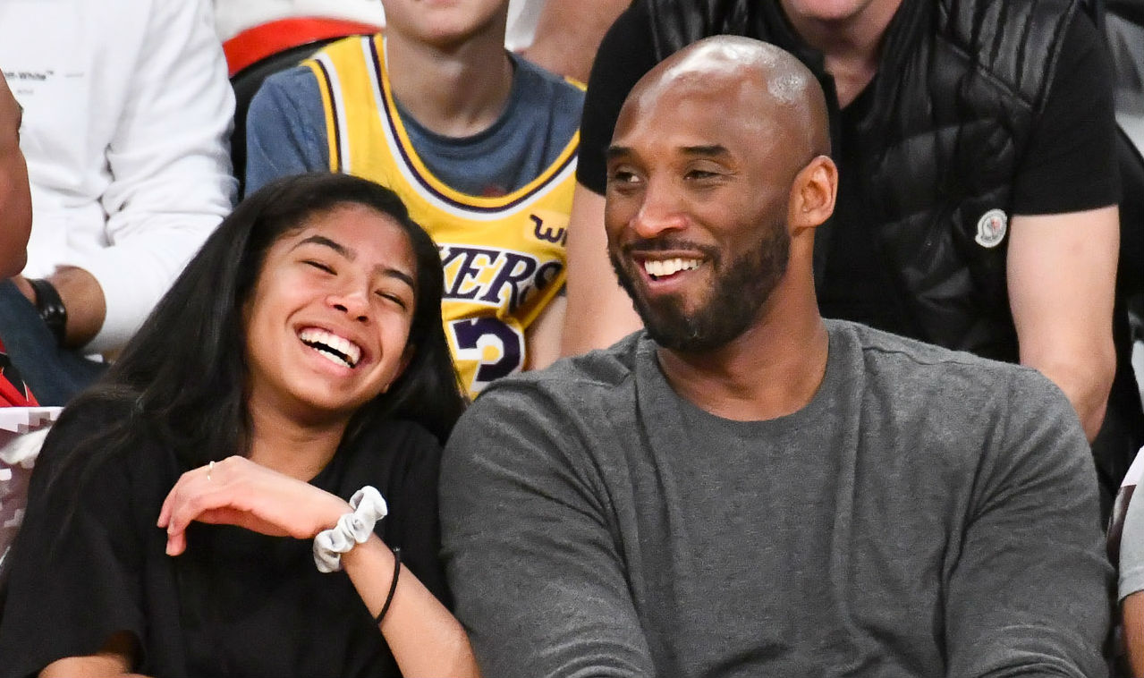 Kobe Bryant and daughter, Gianna