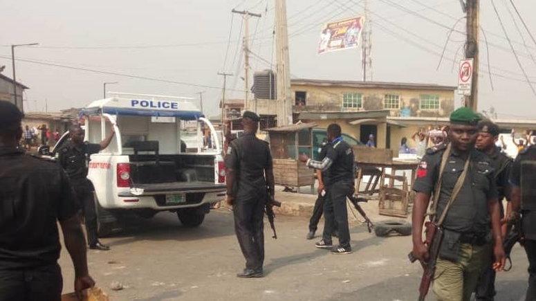 Police in Nigeria.