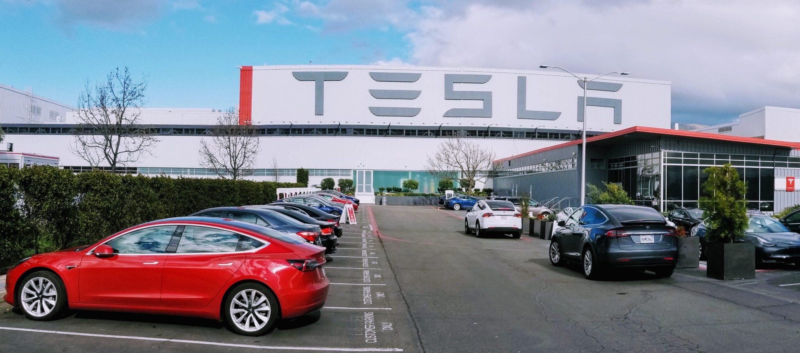Tesla Car Factory.
