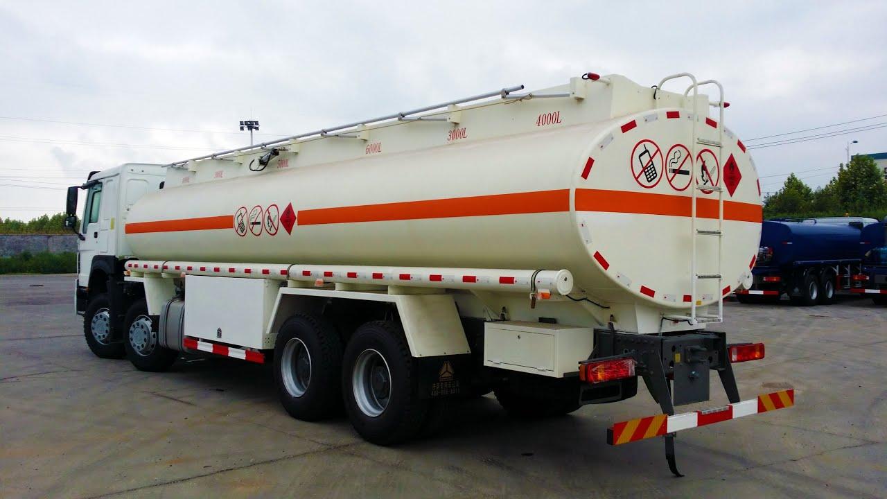 An Oil tanker in Nigeria.