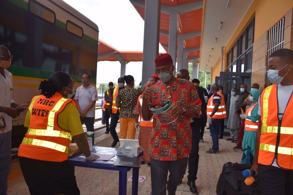 President Buhari names Delta railway station after former President Goodluck Jonathan
