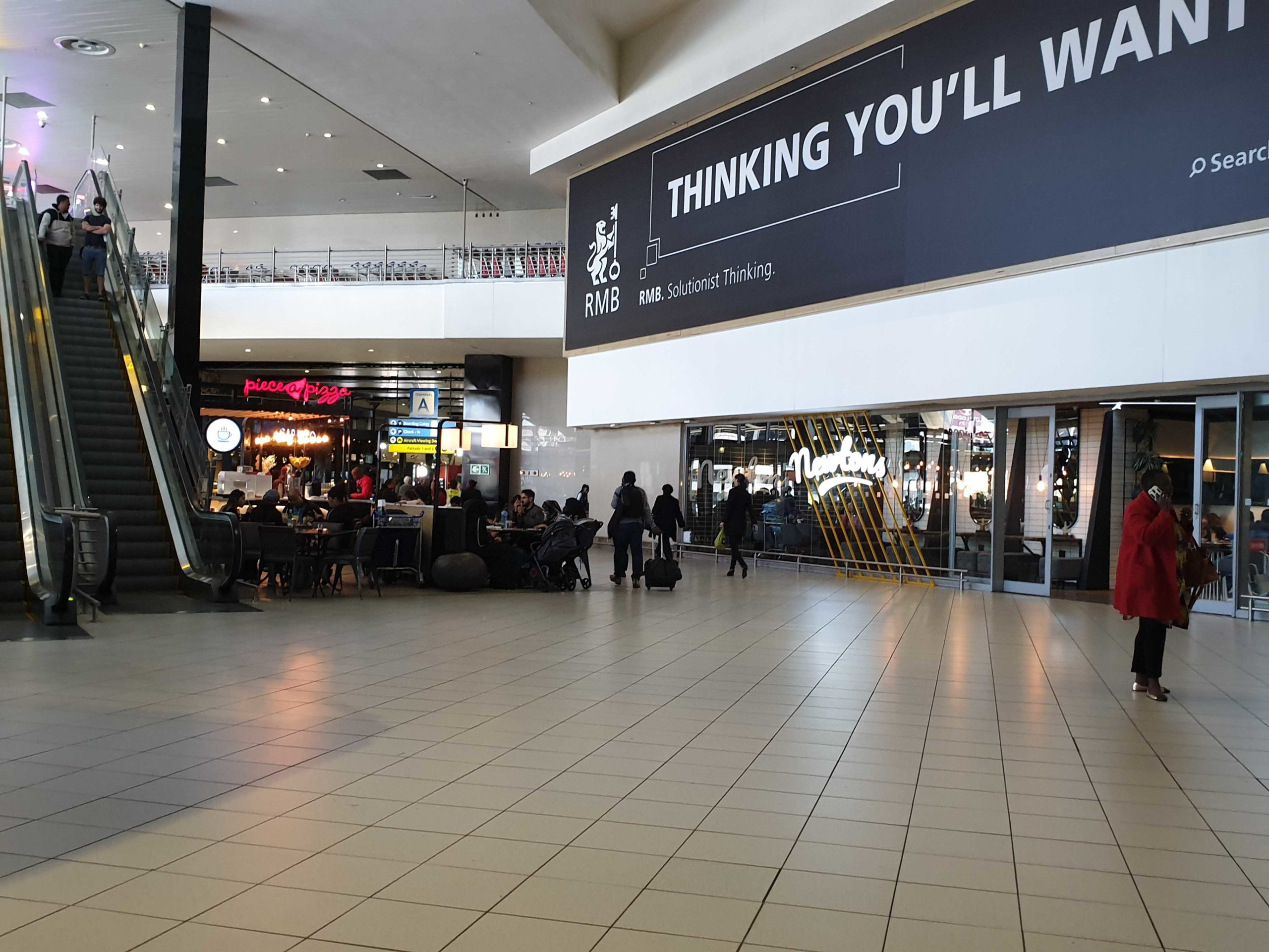 Two people killed during shootout at Johannesburg Airport