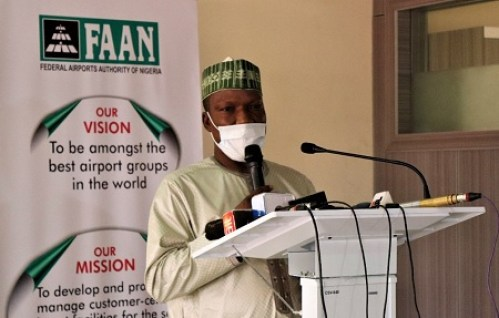 The Managing Director the Federal Airports Authority of Nigeria (FAAN).