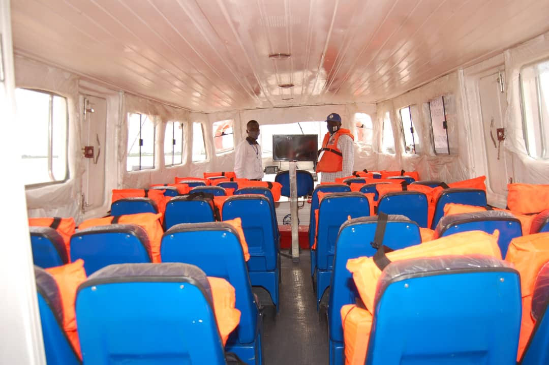 NIWA commissions 36 Seater Ferry Boat in Kebbi State