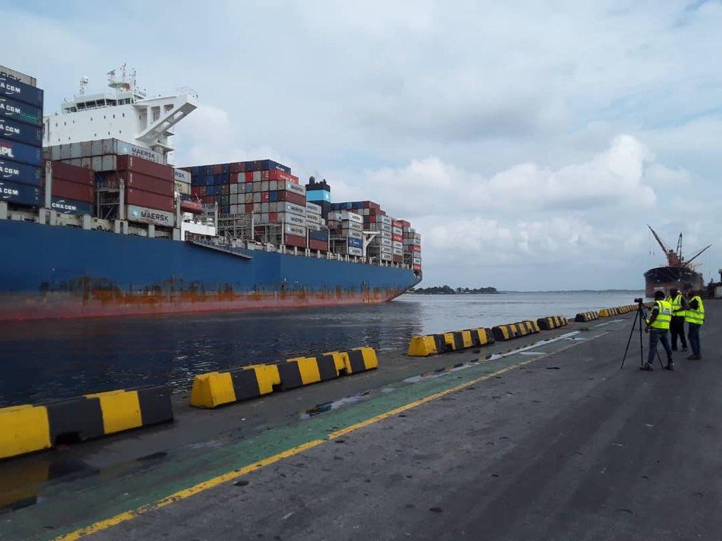 NPA celebrates berth of largest container vessel in Nigeria