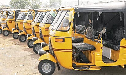 Kaduna bans tricycles on major roads