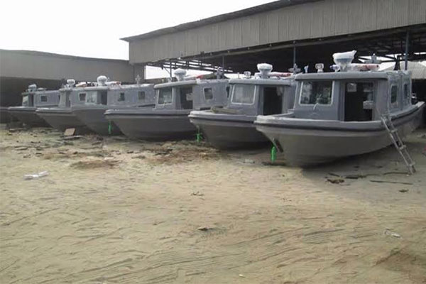 Germany buys Made-in-Nigeria patrol boats, donates them to Chad