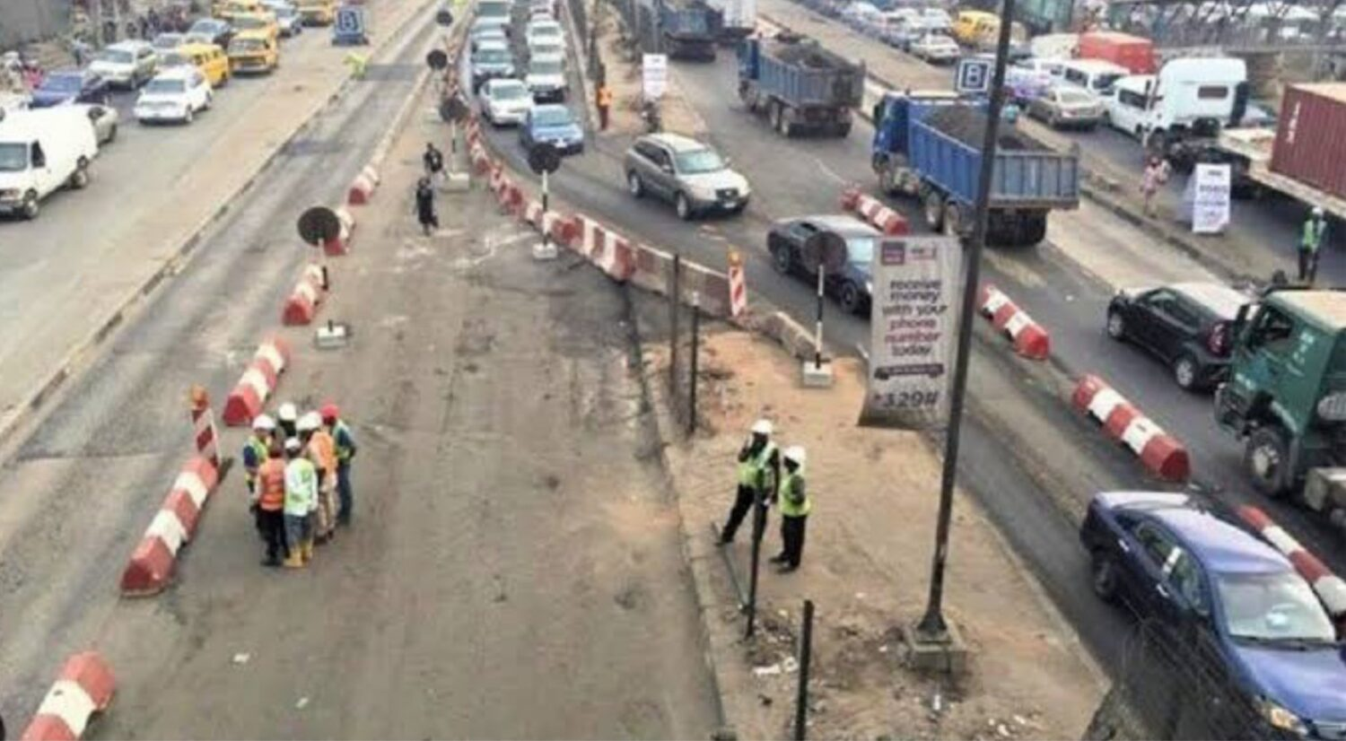 Maryland service lane to be partially closed for six weeks- Lagos |  Transport Day