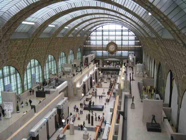 Quai d\'Orsay Museum, Paris, France   The Geography of Transport Systems