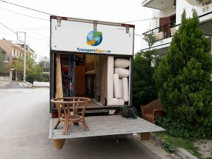 Transport mobila intern