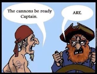 Grammar Pirates Meme