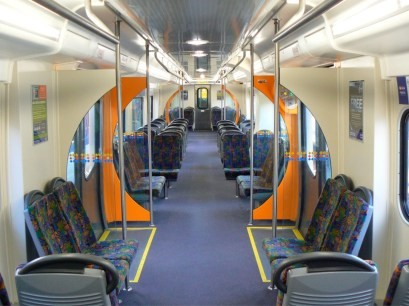 Auckland Rail Refurbished Interior 2002