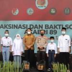 Alumni Akabri 89 Gelar Vaksinasi dan Bakti Sosial di Prov Banten