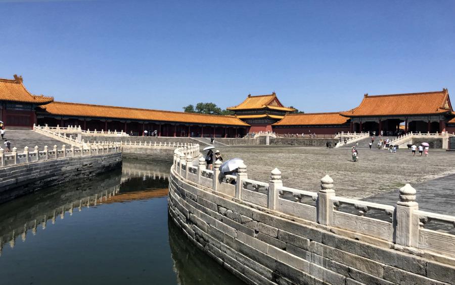 Verbotene Stadt - die größte Touristenattraktion von Peking