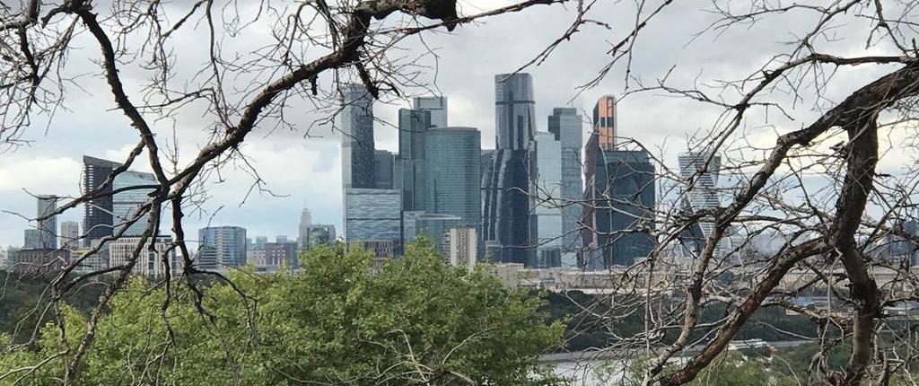 Moskau City - Moskauer Internationales Geschäftszentrum am linken Moskwa-Ufer