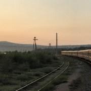 Reise mit der Transsibirischen Eisenbahn