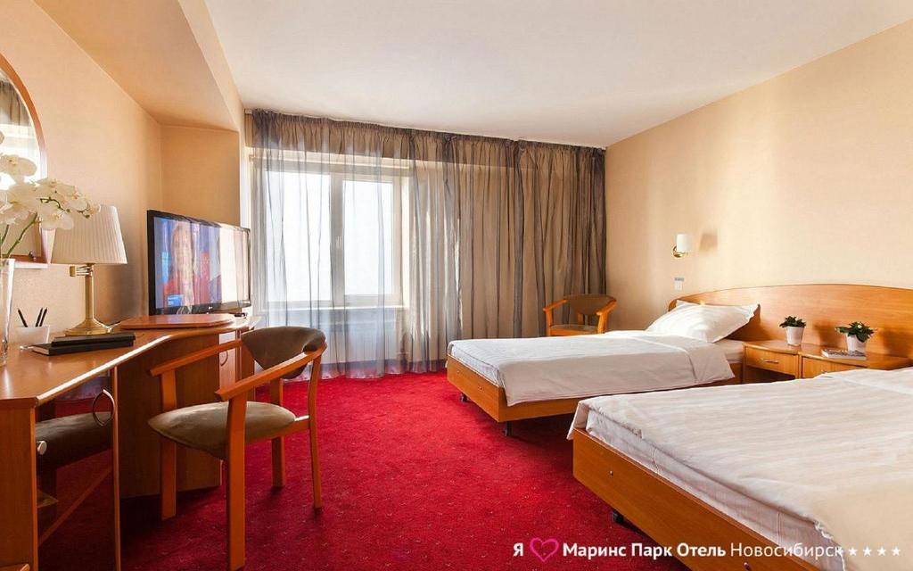 Twin im Hotel Marinspark in Nowosibirsk