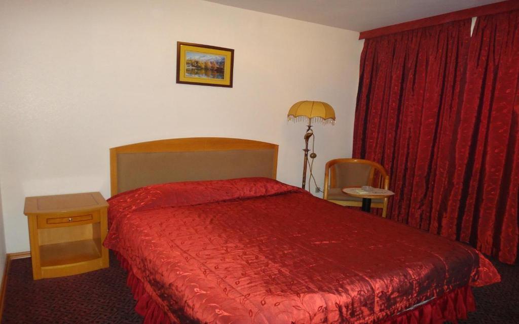 Doppelzimmer im Hotel Primorye in Wladiwostok