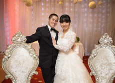 Sydney wedding couple at silver pearl cabramatta reception