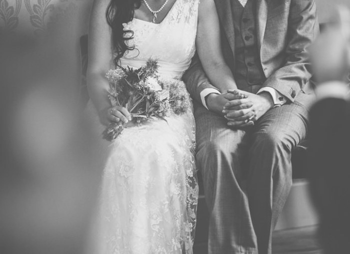 A sydney wedding couple at the church ceremony