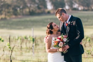beautiful spanish bride with australian groom in hunter valley photography