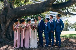 chinese wedding at royal botanic gardens photoshoot