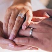 Beautiful australian diamond wedding ring