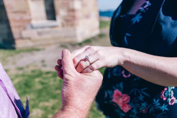 Gemma & James's Engagement Session at La Perouse Sydney