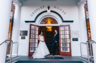 Australian bride and groom at cropley house wedding_01
