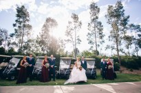 Beautiful bridal party at Stonecutters ridge golf club_01