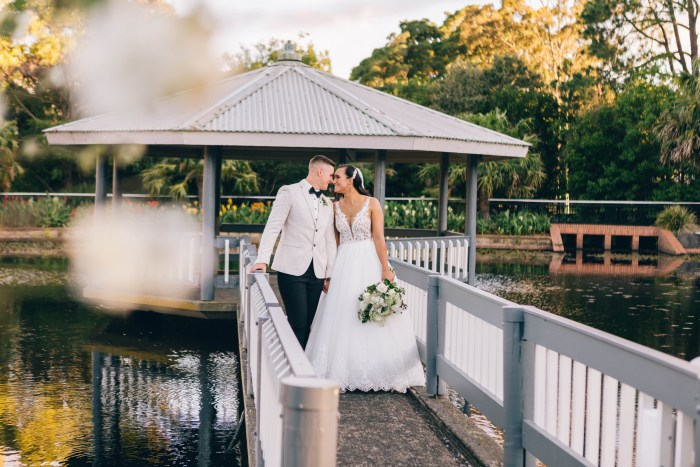 Wollongong Botanic Garden Wedding Photography 1