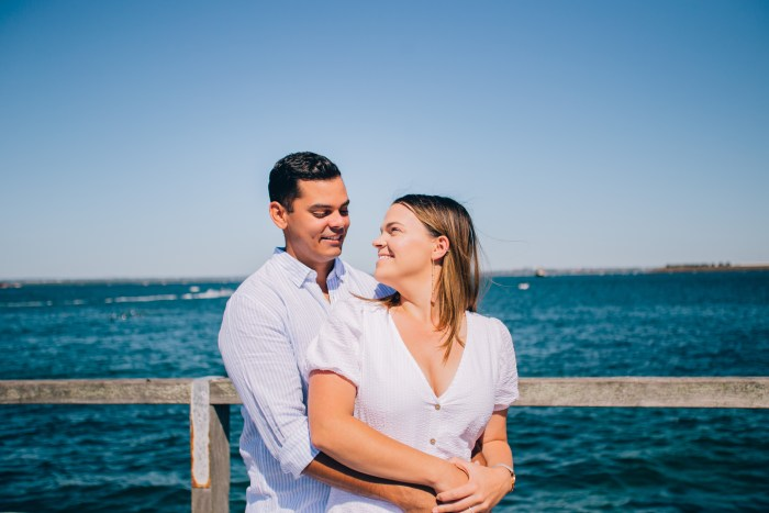 Bare island La Perouse Prewedding Photography