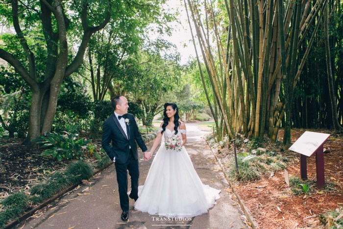 Royal Botanic Gardens Wedding TranStudios 15