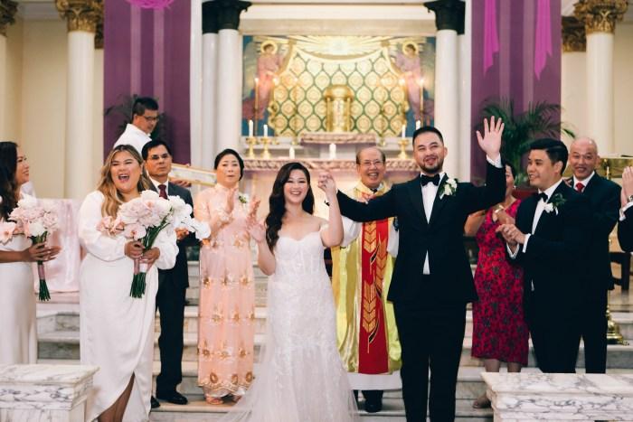 St. Brigid Catholic Church wedding photography