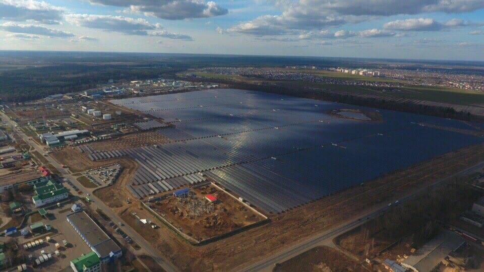 Saulės elektrinė Baltarusijoje