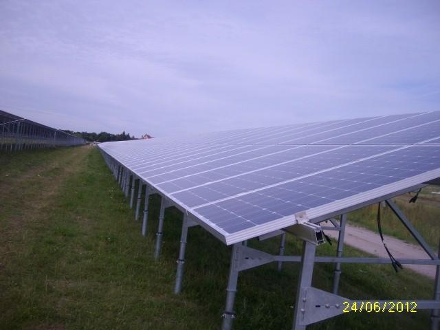 1 MW kabelių tiesimas ir pajungimas Dessau, Vokietija