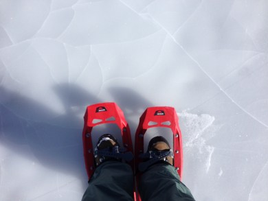 Me, on a frozen lake in Colorado