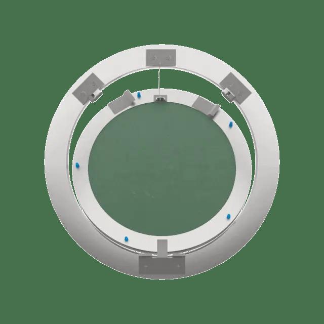 Trappe de visite Rondo ouverture pousser lâcher trape de visite plaque de platre eco rondo 360 0 9