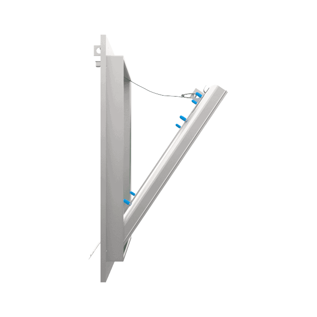 Trappe de visite plaque de plâtre 15 mm Eco Star trape de visite plaque de platre eco star pousser lacher 360 0 5