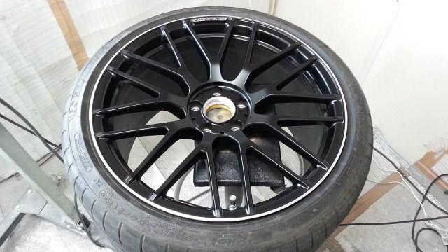 AMG GT S ホイール全体アフター