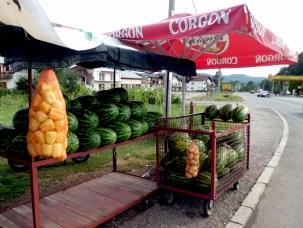 watermelon, on the way from Sarajevo to Tuzla, 2013 © trashbus/Renata Britvec, 2013