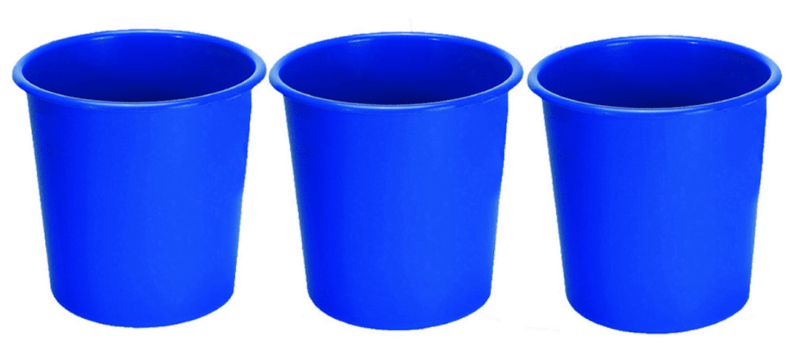 blue Colors of Recycling