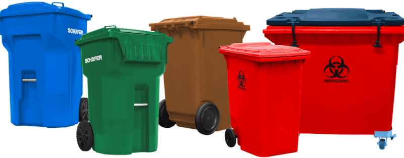Recyclable Trash Cans