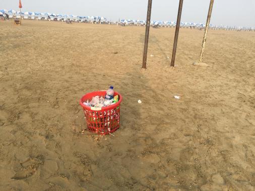Beach Trash Can (2)