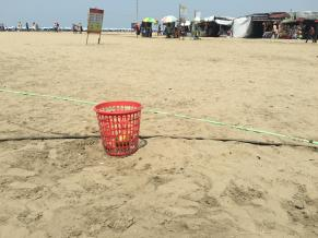 Beach Trash Cans (2)