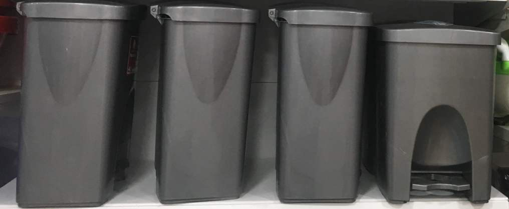 Plastic Trash Cans