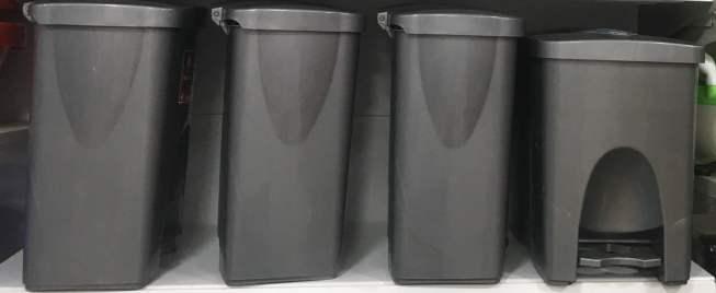 Plastic Trash Cans
