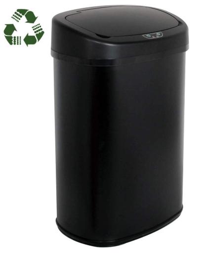 BestOffice Stainless Steel Trash Can