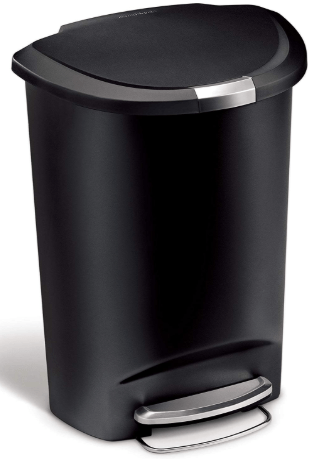 simplehuman 13 gallon step trash can