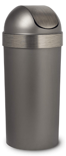 push trash can